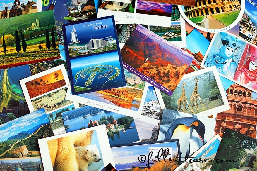 Dubai postcards OR Why you should still be sending holiday postcards