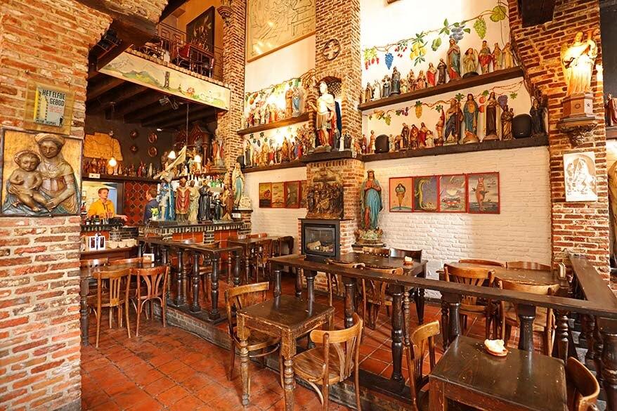 Het Elfde Gebod cafe in Antwerp Belgium
