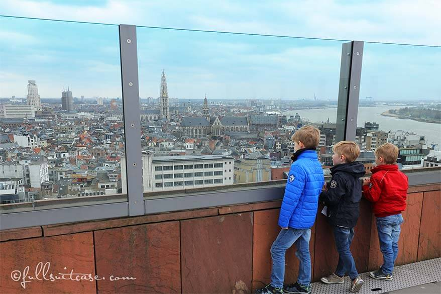 Different day in Antwerp with kids