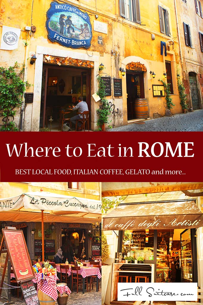 Where to eat and how to find the best Italian food in Rome