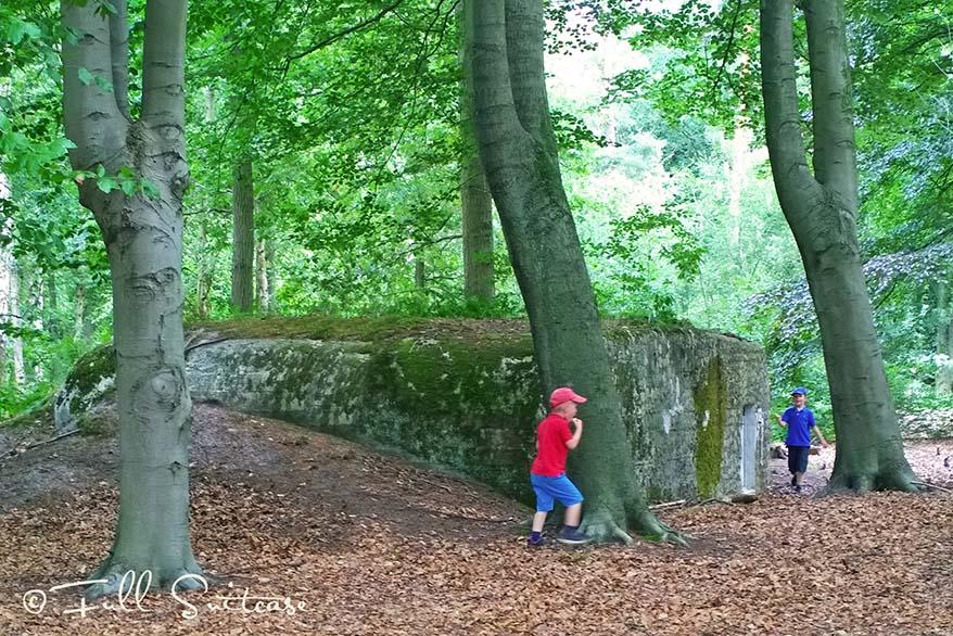 World War I Bunkers in Mastenbos Kapellen
