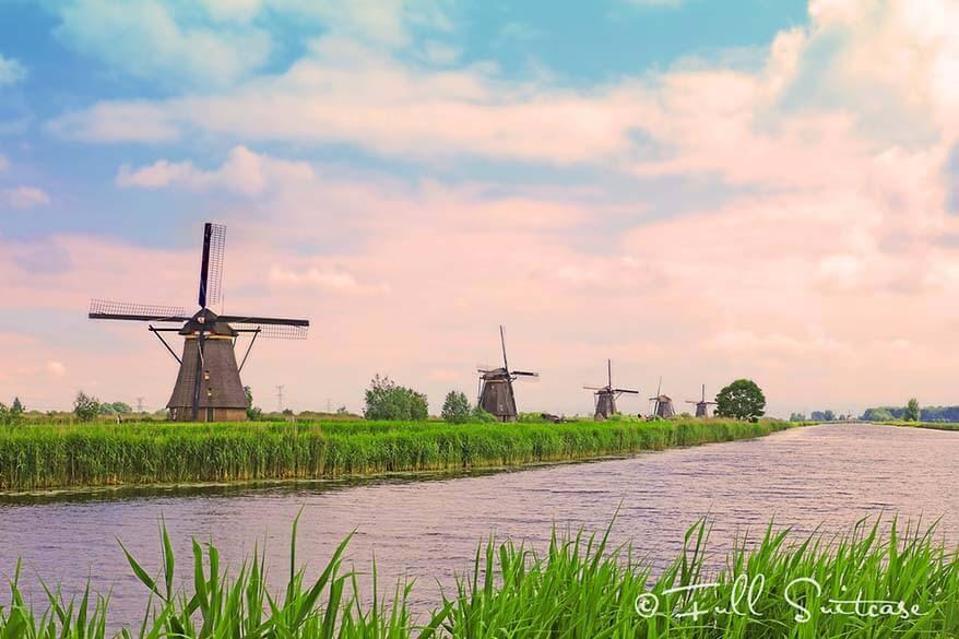 Windmills of Kinderdijk - UNESCO World Heritage Site