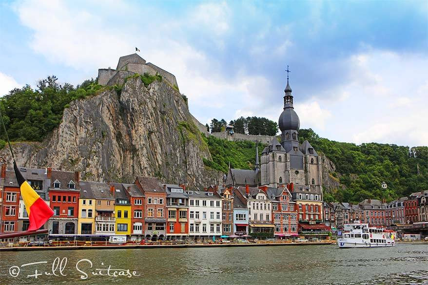 City of Dinant in Belgium
