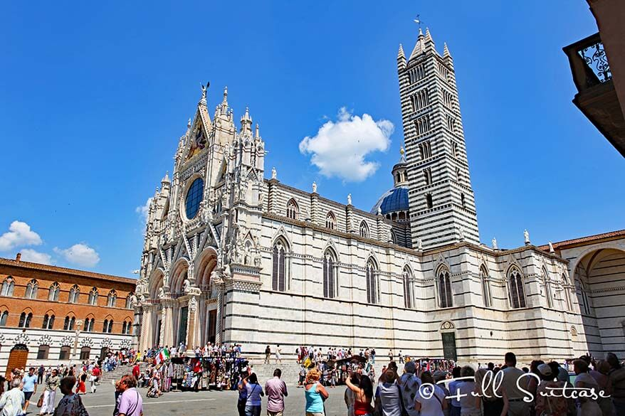 Cathedral of Siena in Tuscany