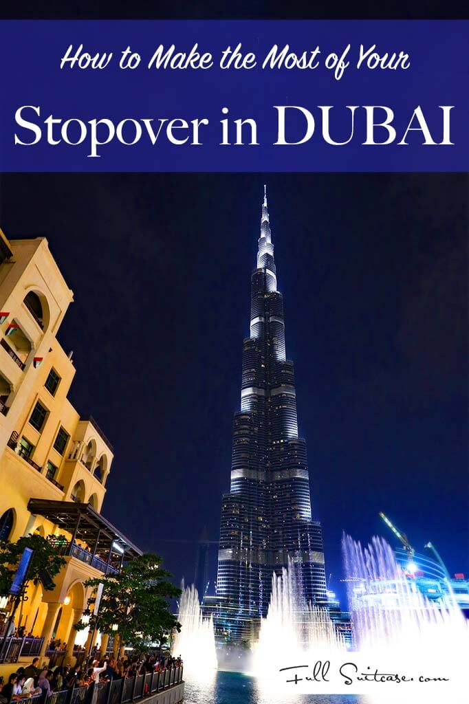 All you need to know for a short stopover in Dubai. Things to see and do from just 6 hours to one or two days. Pin for future reference!