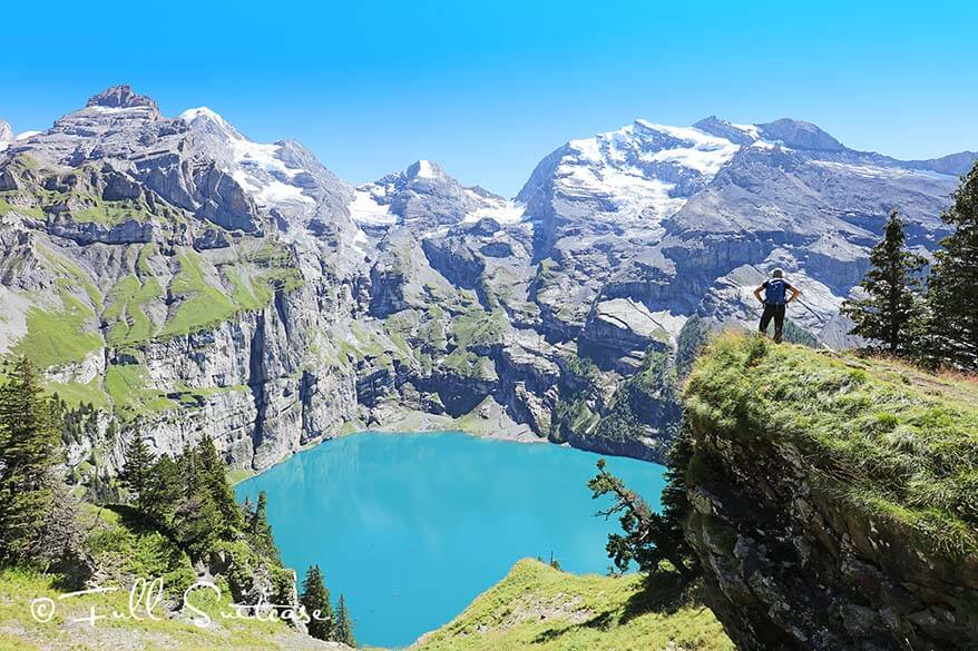Oeschinen Lake UNESCO World Heritage Site