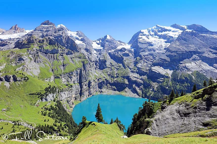Stunning Oeschinensee panorama