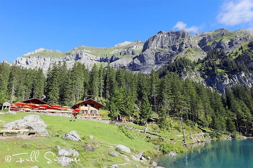 Oeschinen Lake Restaurant