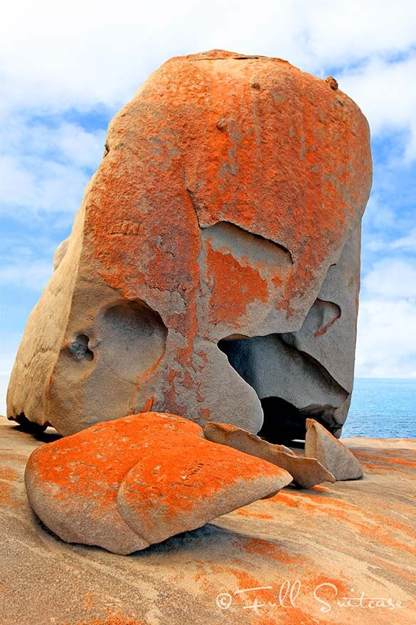 Remarkable Rocks in Flinders Chase National Park Kangaroo Island Australia