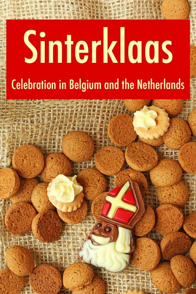 Saint Nicholas day - Sinterklaas celebration in Belgium and the Netherlands. Christmas traditions worldwide.