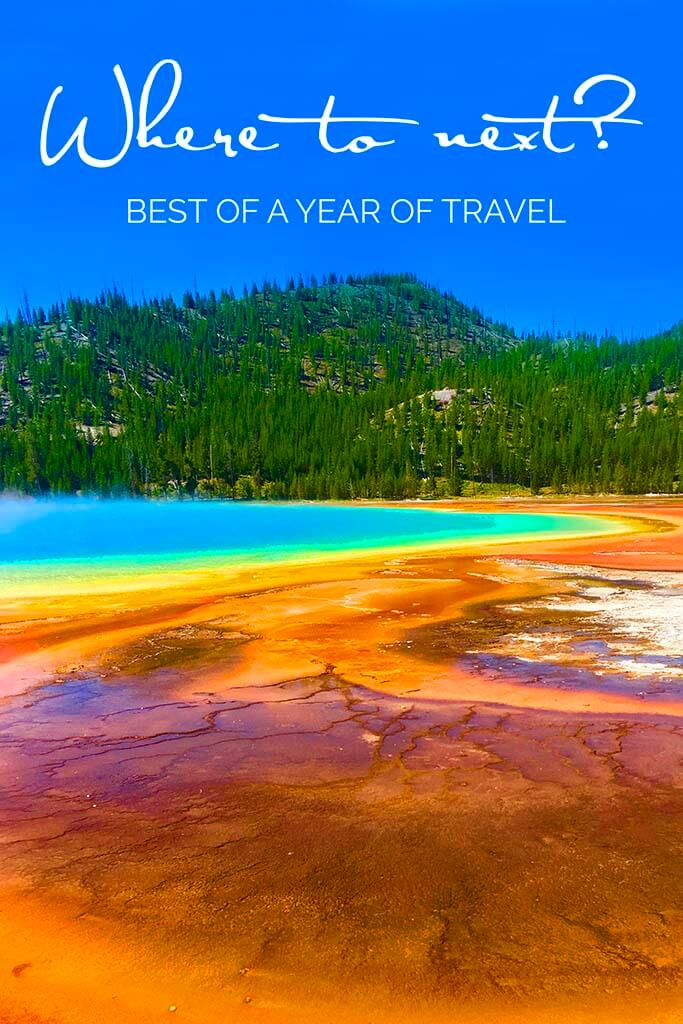 Travel inspiration - the best of our year of traveling 2016