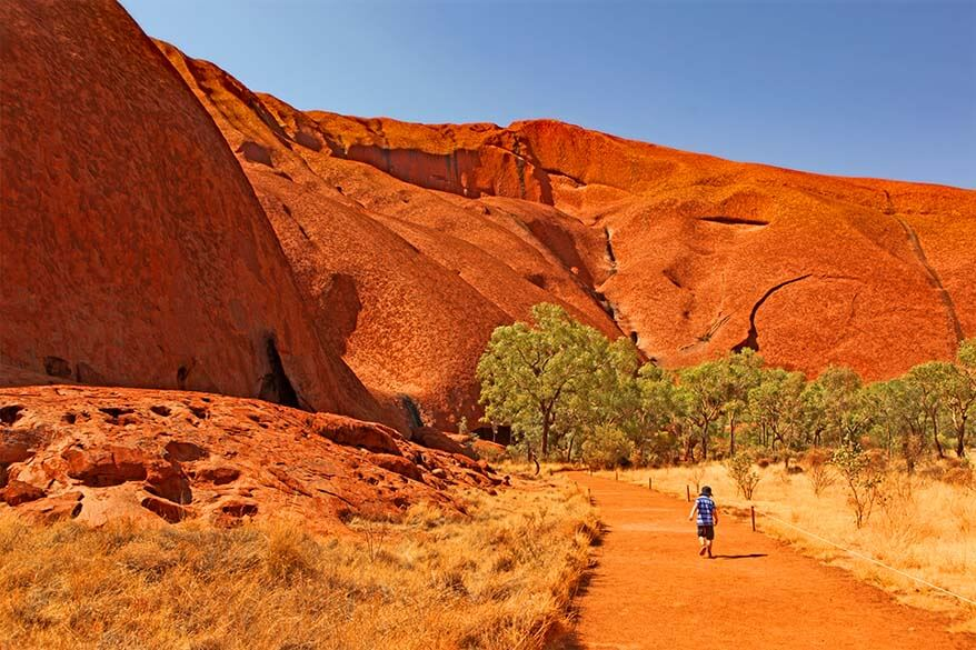 Mala Walk at Uluru with kids