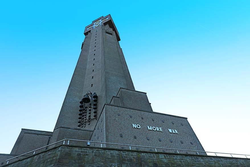 Yser Tower Diksmuide Belgium