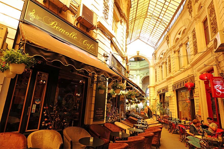 Macca - Vilacrosse Passage in Bucharest Romania