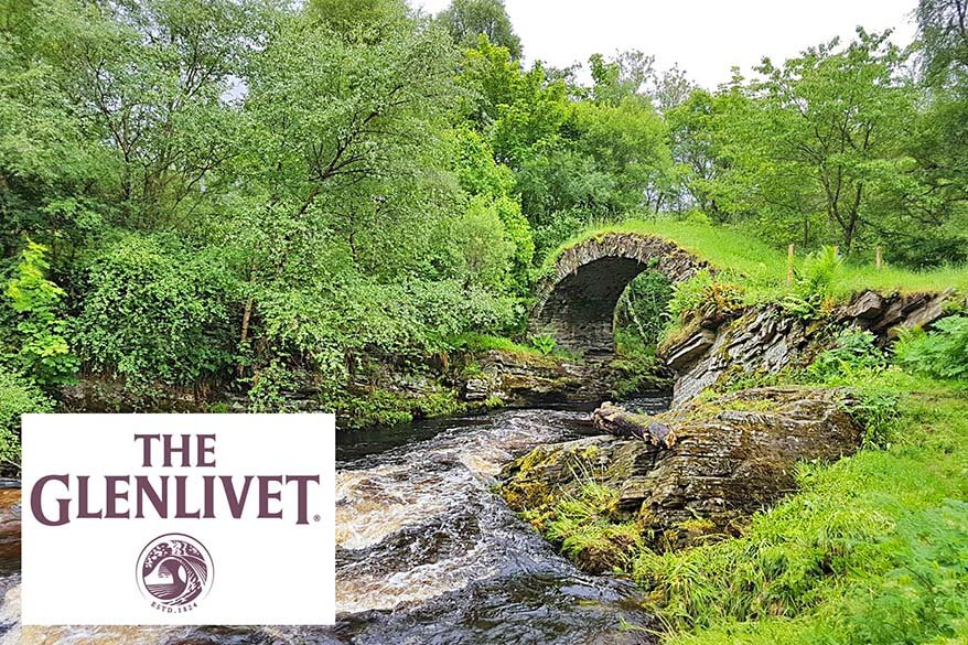 The Glenlivet Bridge is not to be missed on any Scotland whisky trip