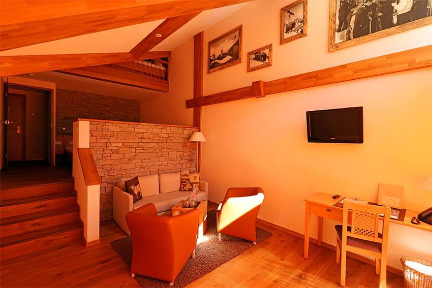 Alpine Lodge Trubsee has beautiful family rooms
