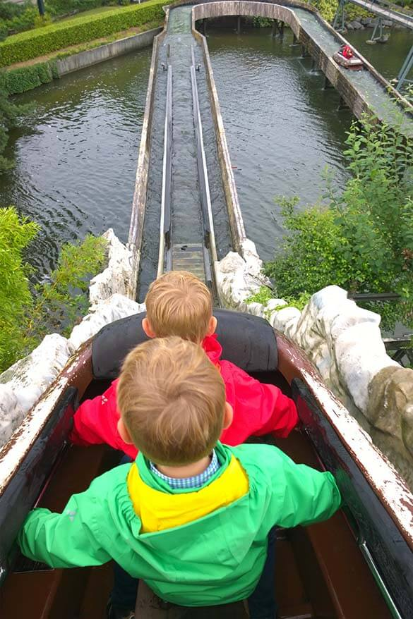 Bobbejaanland has a great range of rides for all ages