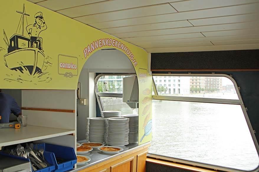 Pannekoekenboot Antwerpen