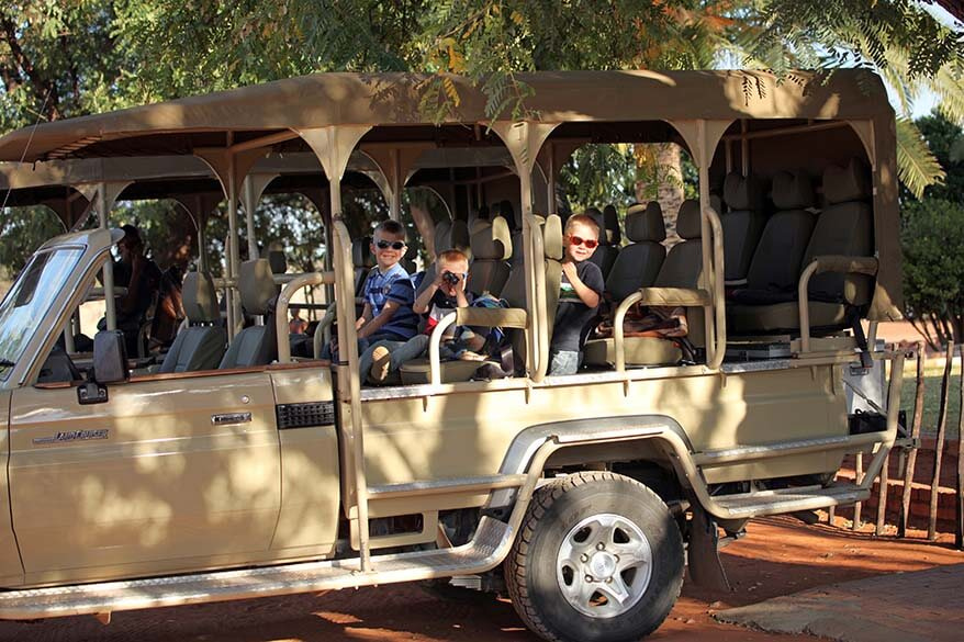 Safari with young kids - all you may want to know before your African family trip