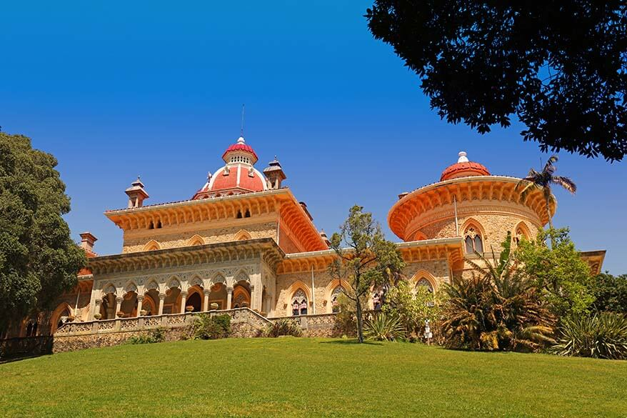 Monserrate Palace in SintraPortugal