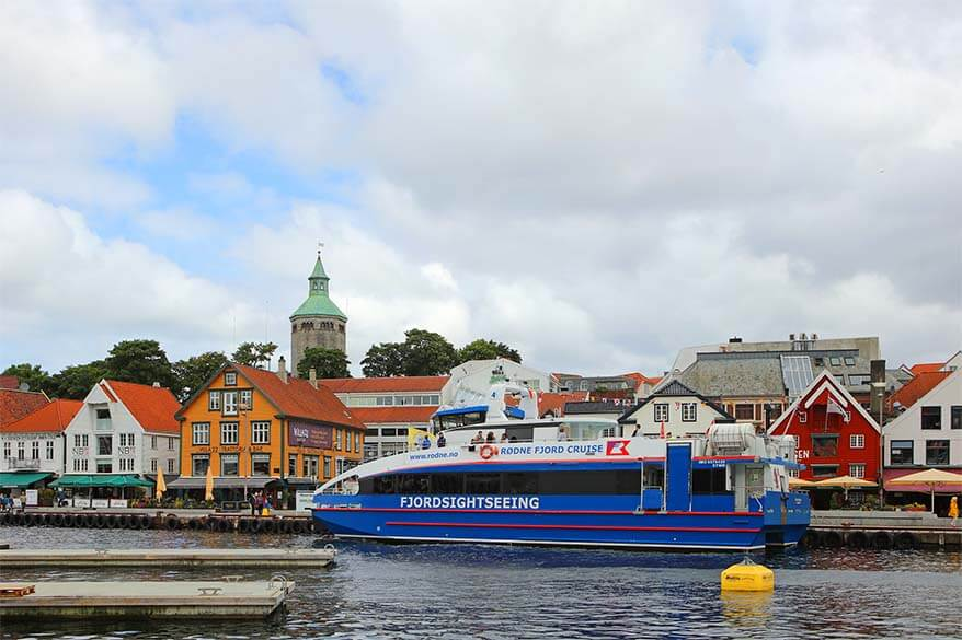 Rodne fjord cruise in Stavanger offers the best way to visit Lysefjord and do the Pulpit Rock hike in one day
