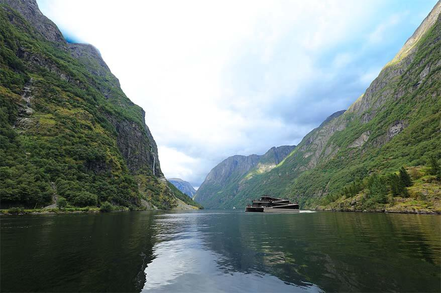 Scenic Naeroyfjord cruise is undoubtedly one of the best things to do in Flam
