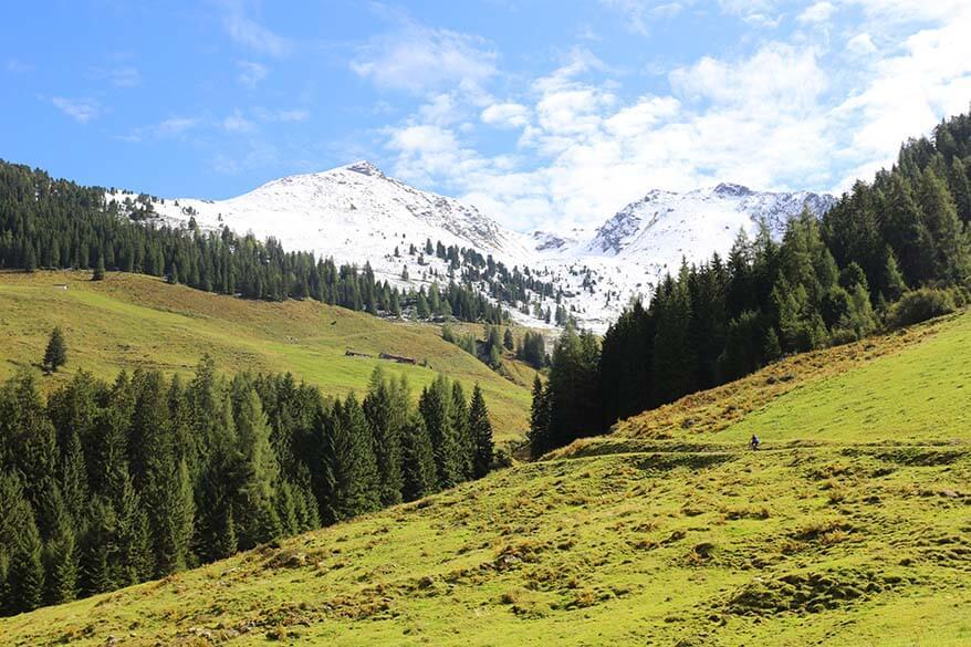 E-bike tour in Tyrol mountains Austria