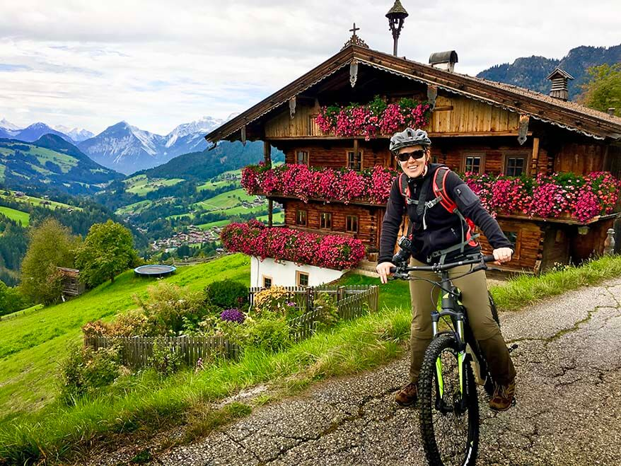 My first time experience on a guided electric bike tour in Alpbachtal Tyrol Austria