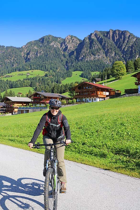 My first electric mountain bike tour in Tyrol