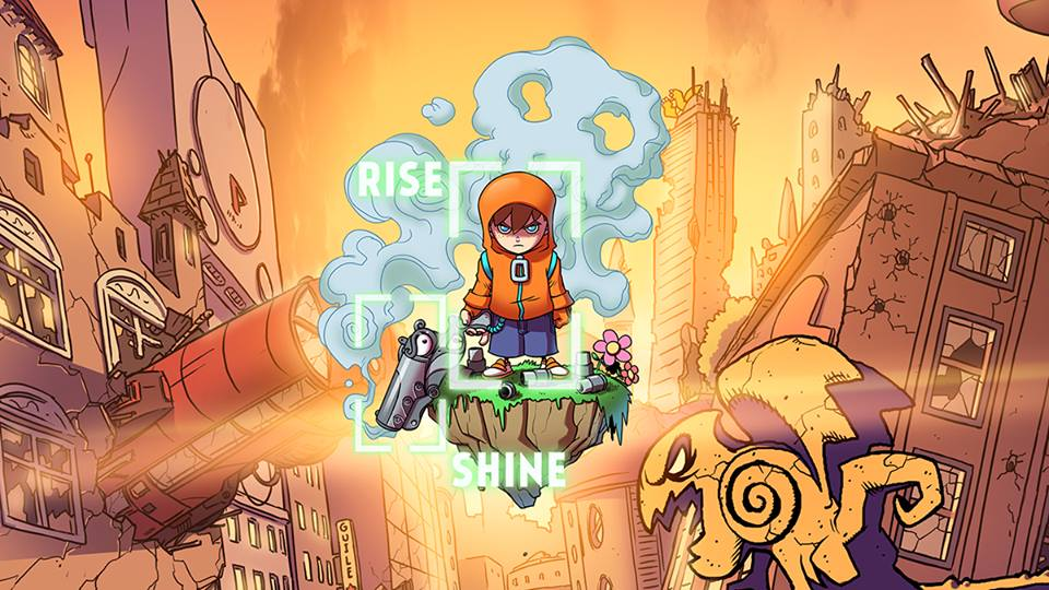 Rise And Shine logo by Super Awesome Hyper Dimensional Mega Team