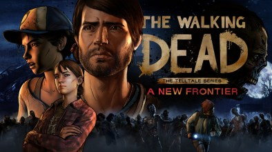 The Walking Dead The Telltale Series A New Frontier logo