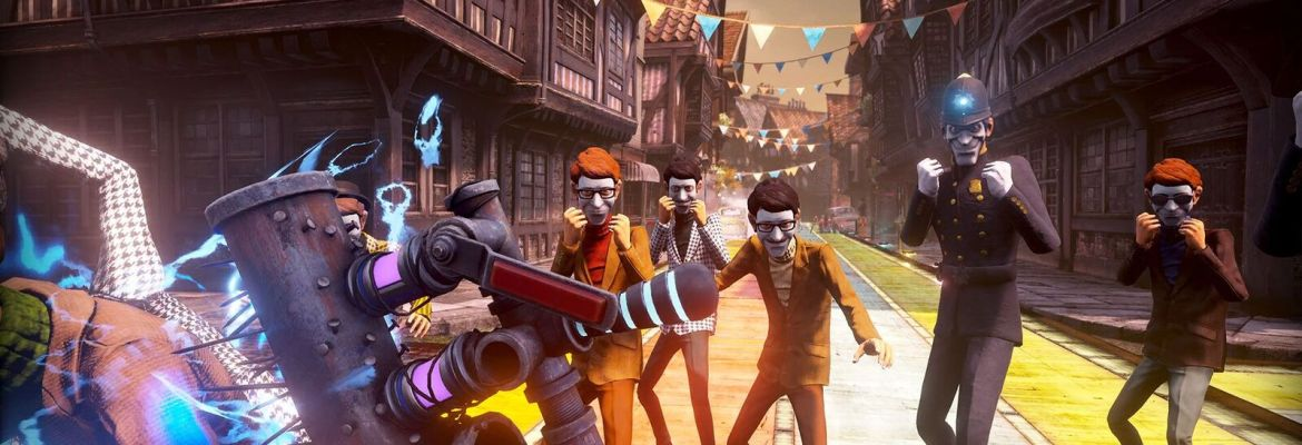 We Happy Few gameplay footage