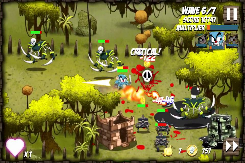 Onion Force gamplay