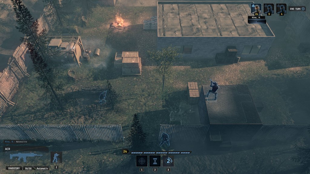 Iron Sight End State gameplay footage