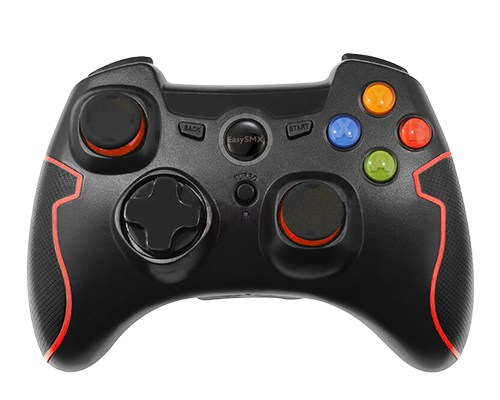 EasySMX Wireless Controller in red