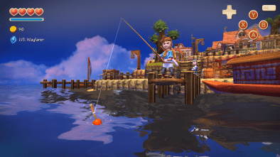 Oceanhorn gameplay footage