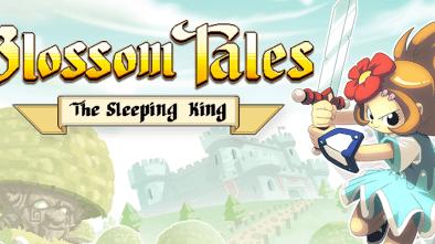 Blossom Tales: The Sleeping King logo