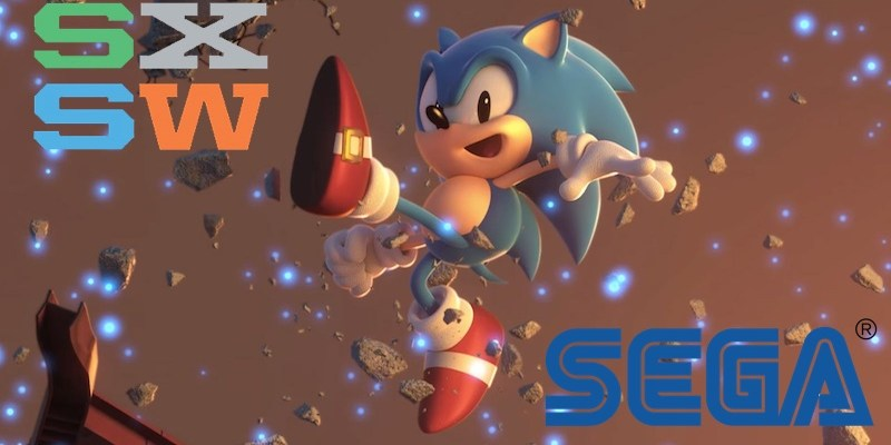 Sonic SXSW SEGA Panel Banner
