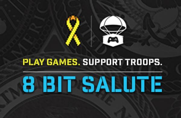 8 Bit Salute logo