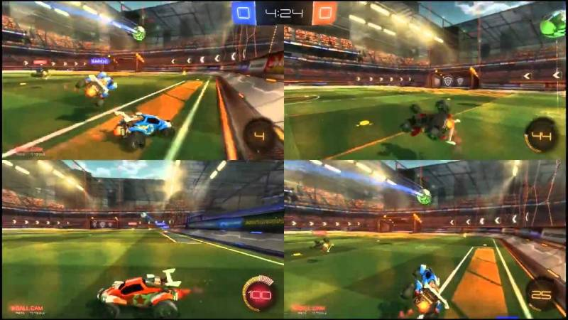 Rocket League competitive esport