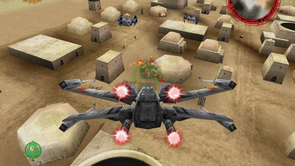 Taking a trip down memory lane playing Star Wars Rogue Squadron on the N64