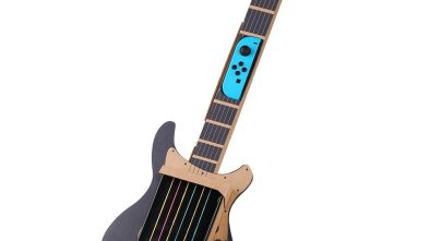 Poconic Switch Guitar fully built