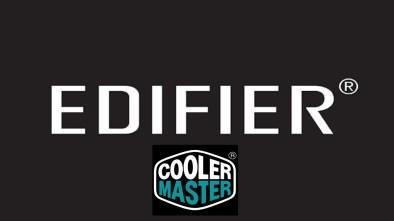 Edifier & Cooler Master logos