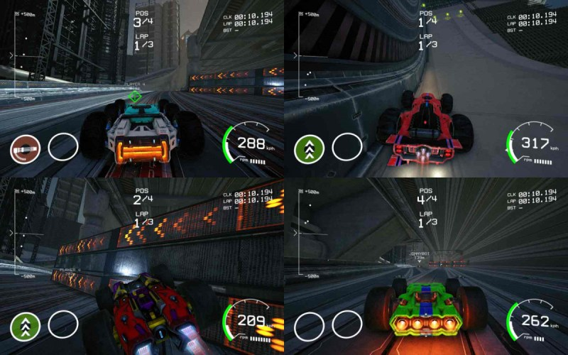 Grip Combat Racing split screen multiplayer