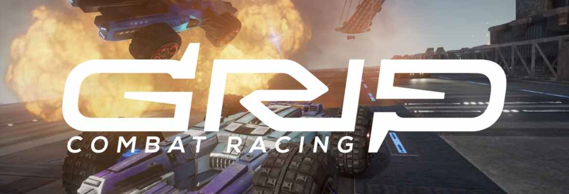 GRIP Combat Racing logo