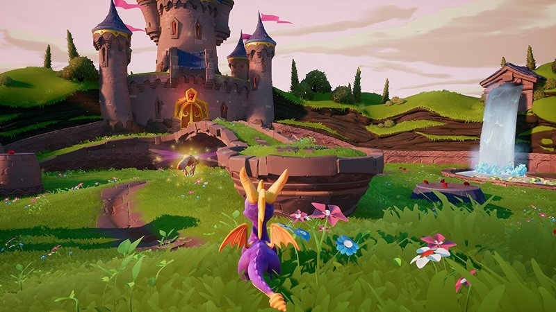Gameplay from the first world of Spyro 1 from Spyro Reignited Trilogy