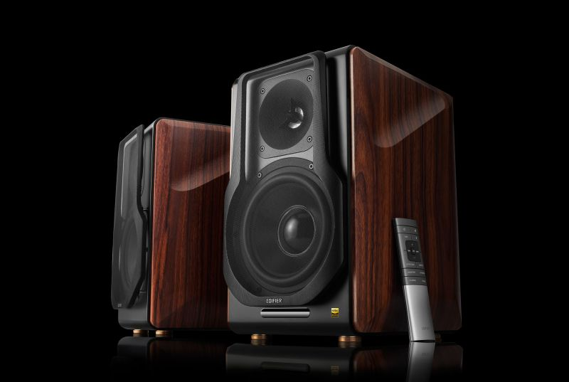 Edifier's first 2.0 wireless monitor speakers boast 256 watts total RMS