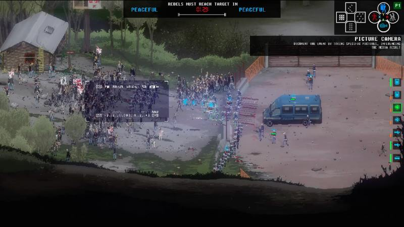Gameplay footage from RIOT Civil Unrest