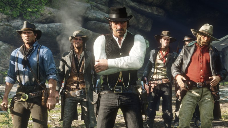 Red Dead Redemption 2 cowboy boyband