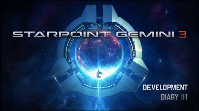 Starpoint Gemini 3 logo for Dev Diary #1